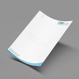 چاپ سربرگ A4 تحریر 80 گرم چاپ ویژه