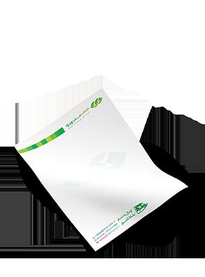 چاپ آنلاین انواع سربرگ و یادداشت ارزان چاپ ویژه