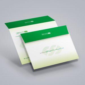 چاپ پاکت A3 تحریر 120 گرم افقی (پاکت کیفی A3) چاپ ویژه
