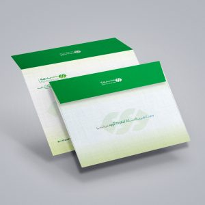 چاپ پاکت A3 کتان 120 گرم افقی (پاکت کیفی A3) چاپ ویژه