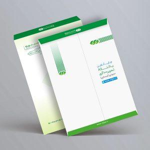 چاپ پاکت A3 تحریر 100 گرم عمودی (پاکت کیسه ای A3) چاپ ویژه